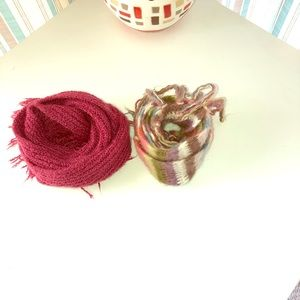 Accessories - Bundle of 2 Fall/Winter Scarves